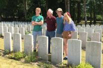 Personal family visit at Etaples Military Cemetery – Etaples and Somme WW1 Battlefield Tour