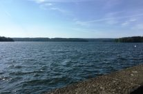 View over the water from the Möhne Dam – Dam Busters Private Battlefield Tour