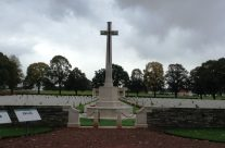 Delville Wood Cemetery, Somme and Ypres Battlefield Tour