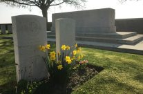 Stone of Remembrance at Point-Du-Jour Military Cemetery, Athies – Arras 100 Anniversary Battlefield Tour