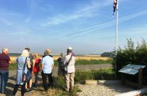 The Group at Maricourt where the British and French front lines met – Etaples and Somme WW1 Battlefield Tour