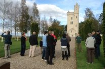 The group at the Ulster Tower – Somme and Ypres Battlefield Tour