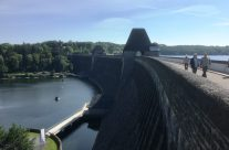 The rear of the Möhne Dam – Dam Busters Private Battlefield Tour