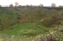 The Lochnagar Crater – Somme and Ypres Battlefield Tour