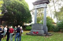 BEF Memorial at La Bascule crossroads, Mons – Mons and Ypres Battlefield Tour