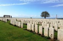 Caterpillar Valley Cemetery, Somme and Ypres Battlefield Tour