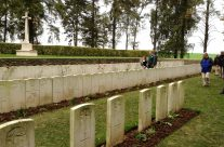 Hawthorne Ridge Cemetery No 2 at Beaumont-Hamel – Somme and Ypres Battlefield Tour