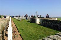 Sunken Road Cemetery, Fampoux – Arras 100 Anniversary Battlefield Tour