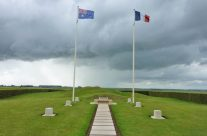 Site of the windmill at Pozieres – Somme and Ypres Battlefield Tour