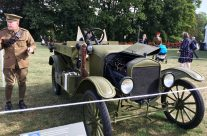 WW1 Staff Car at the Passchendaele Museum – Passchendaele Anniversary Remembrance Battlefield Tour