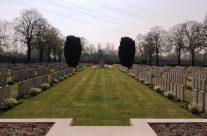 Brown's Copse Cemetery – Arras 100 Anniversary Battlefield Tour