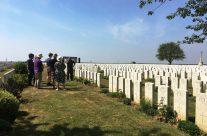 Caterpillar Valley Cemetery – Etaples and Somme WW1 Battlefield Tour