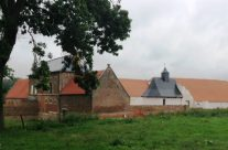 The grounds of Hougoumont Chateau – Waterloo Battlefield Tour