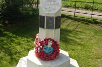 Memorial to the men of the North Midland Division who attacked the Hohenzollern Redoubt – Loos and Ypres Battlefield Tour