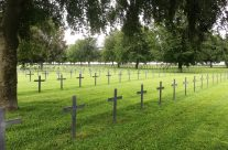 Neuville-Saint-Vaast, the largest German cemetery in France for World War One casualties with 44,833 buried here – 100th Anniversary of the Somme Battlefield Tour