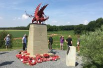 The Red Dragon 38th Welsh Division Memorial at Mametz Wood – Etaples and Somme WW1 Battlefield Tour