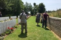 Devonshire Trench Cemetery – Etaples and Somme WW1 Battlefield Tour