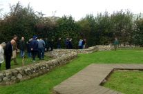 The group at the Yorkshire Trench – Ypres Battlefield Tour