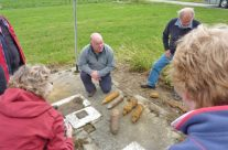 Ploughed up WW1 shells – Somme and Ypres Battlefield Tour