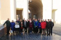 The Group at the Menin Gate, Ypres – Somme and Ypres Battlefield Tour