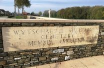 Wytschaete Military Cemetery, Ypres Salient – 2016 Armistice Day in Ypres and Battlefield Tour