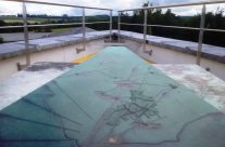 Orientation Map on top of the Mardasson Memorial – Easy Company Private Battlefield Tour