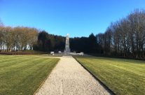 New Zealand Memorial at the New Zealand Memorial Park – Messines Discovery Battlefield Tour