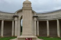 The Arras Flying Services Memorial commemorates 990 British casualties who died on the Western Front in France and in Belgium and who have no known grave – Somme Battlefield Tour