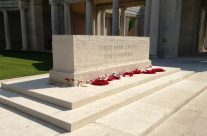 The Stone of Remembrance at the Arras Memorial – Arras 100 Anniversary Battlefield Tour