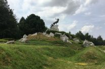 The Caribou at the Newfoundland Memorial Park – Etaples and Somme WW1 Battlefield Tour