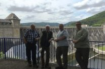 The 'Easy Boys' Group at the Eder Dam – Dam Busters Private Battlefield Tour