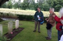 Our last personal visit  took us to Ecoivres Military Cemetery, Mont St Eloi – Somme Battlefield Tour