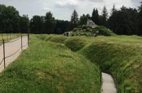 The trenches at the Newfoundland Memorial Park – Etaples and Somme WW1 Battlefield Tour