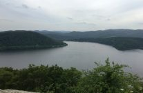 View of Eder Dam from the castle – Dam Busters Private Battlefield Tour