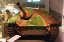 German self propelled gun inside museum – Easy Company Private Battlefield Tour