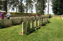 Hawthorn Ridge Cemetery No 2 at the Newfoundland Memorial Park – Etaples and Somme WW1 Battlefield Tour