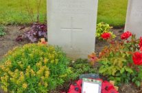 Grave of WW1 poet Hedd Wyn – Somme and Ypres Battlefield Tour