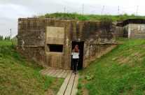 Bunker at Zandvoorde, Somme and Ypres Battlefield Tour