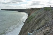 Cliffs at Pointe du Hoc – Normandy and D-Day Landings Tours