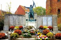Memorial to Belgian soldiers at Plugstreet, Ypres Salient – 2016 Armistice Day in Ypres and Battlefield Tour