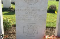 VC winner Captain Anketell Moutray Read buried in Dud Corner Cemetery, Loos – Arras 100 Anniversary Battlefield Tour