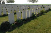 St Mary's A.D.S. Cemetery, Battle of Loos – Arras 100 Anniversary Battlefield Tour