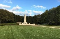 New Zealand Memorial at the New Zealand Memorial Park – Armistice in Ypres and Passchendaele 100 Anniversary Battlefield Tour