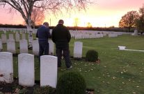 A personal visit at Railway Dugouts Burial Ground (Transport Farm) Cemetery – 2018 Armistice Remembrance Day in Ypres