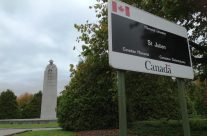 Vancouver Corner Canadian Memorial 'The Brooding Soldier', Somme and Ypres Battlefield Tour