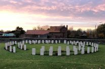 Railway Dugouts Burial Ground (Transport Farm) Cemetery – 2018 Armistice Remembrance Day in Ypres