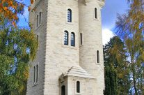 The Ulster Tower is a WW1 memorial to the men of the 36th (Ulster) Division – Somme and Ypres Battlefield Tour