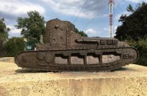 Tank Corps Memorial at Pozieres – Etaples and Somme WW1 Battlefield Tour