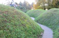 Trenches at Newfoundland Memorial Park – Somme and Ypres Battlefield Tour