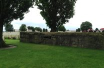 Tyne Cot Cemetery and one of the concrete German bunkers – 100th Anniversary of the Somme Battlefield Tour